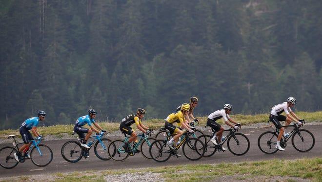 The Tour de France continues on Thursday.