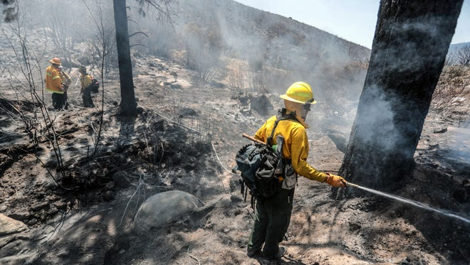 Scenes from the Cranston Fire in Mountain Center, Calif. Saturday, July 28, 2018.