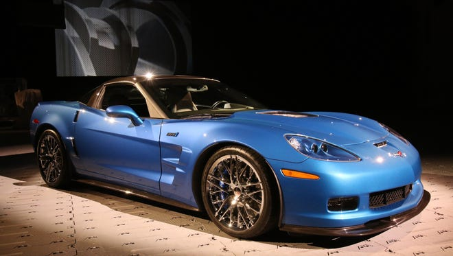 Chevrolet unveiled the restored 2009 Corvette ZR1 that was damaged earlier this year when a sinkhole developed beneath the National Corvette Museum. It made its debut in Las Vegas at an event before the opening of the SEMA trade show.