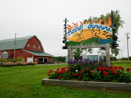 Mornin' Sunshine Farm is located off of Highway 13