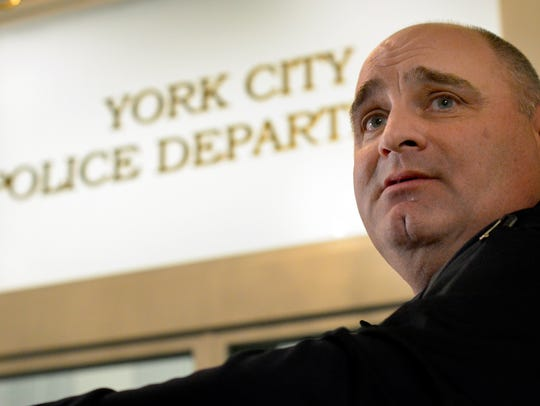 In this file photo, York City Police Chief Wes Kahley