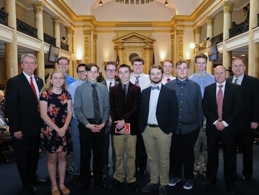 Sen Ridley Honors Henderson County State Champions In