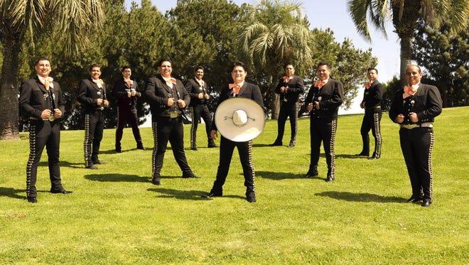 Mariachi Garibaldi de Jaime Cuellar hails from California.