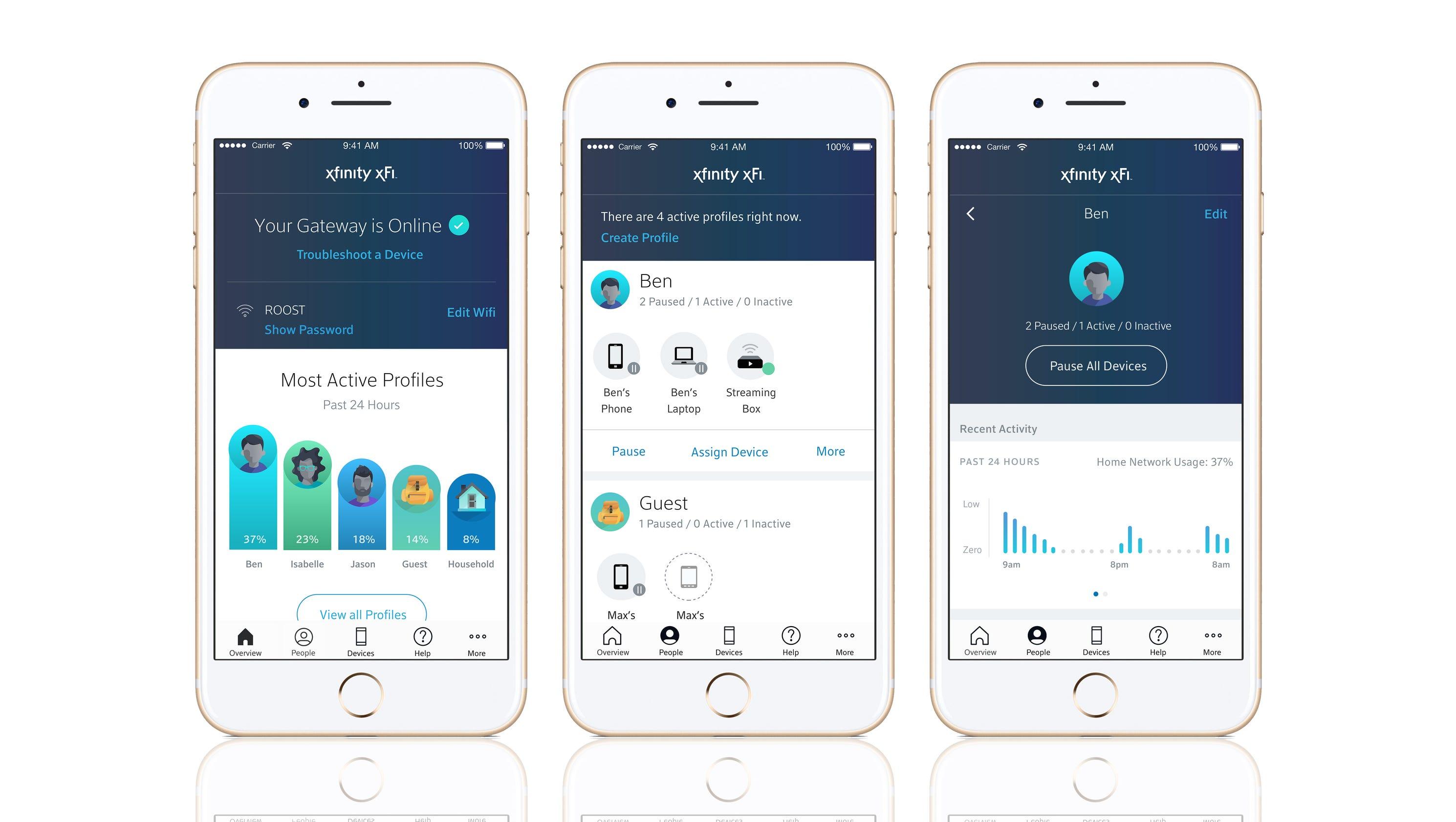 Comcast Xfinity wireless: new xFi apps helps you monitor Wi-Fi