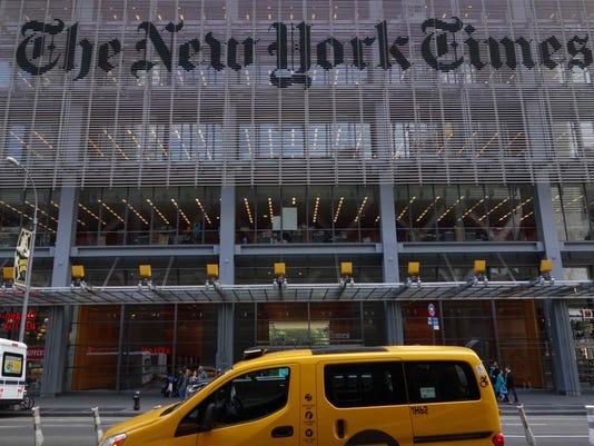 The New York Times buiilding