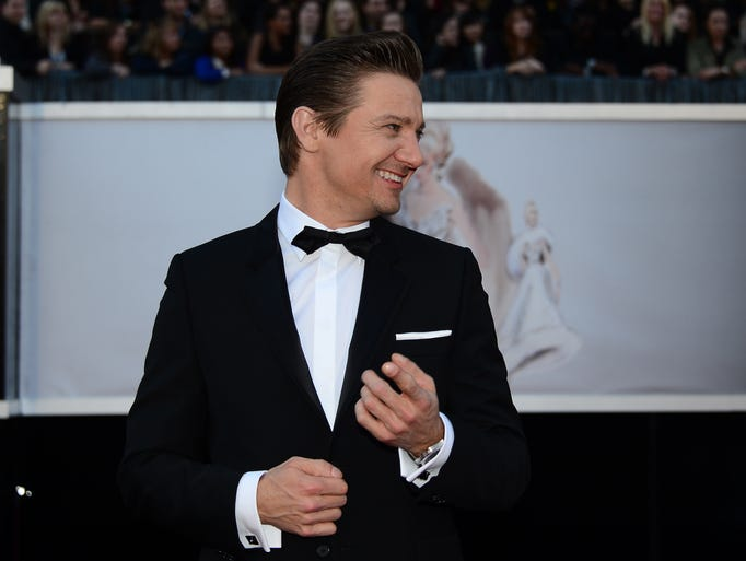 News10 is getting ready for its March 2 broadcast of the Oscars by looking back at the glamour and glitz of the red carpet at awards shows of the past year. In this photo, actor Jeremy Renner arrives on the red carpet for the 85th Annual Academy Awards on February 24, 2013 in Hollywood, California.