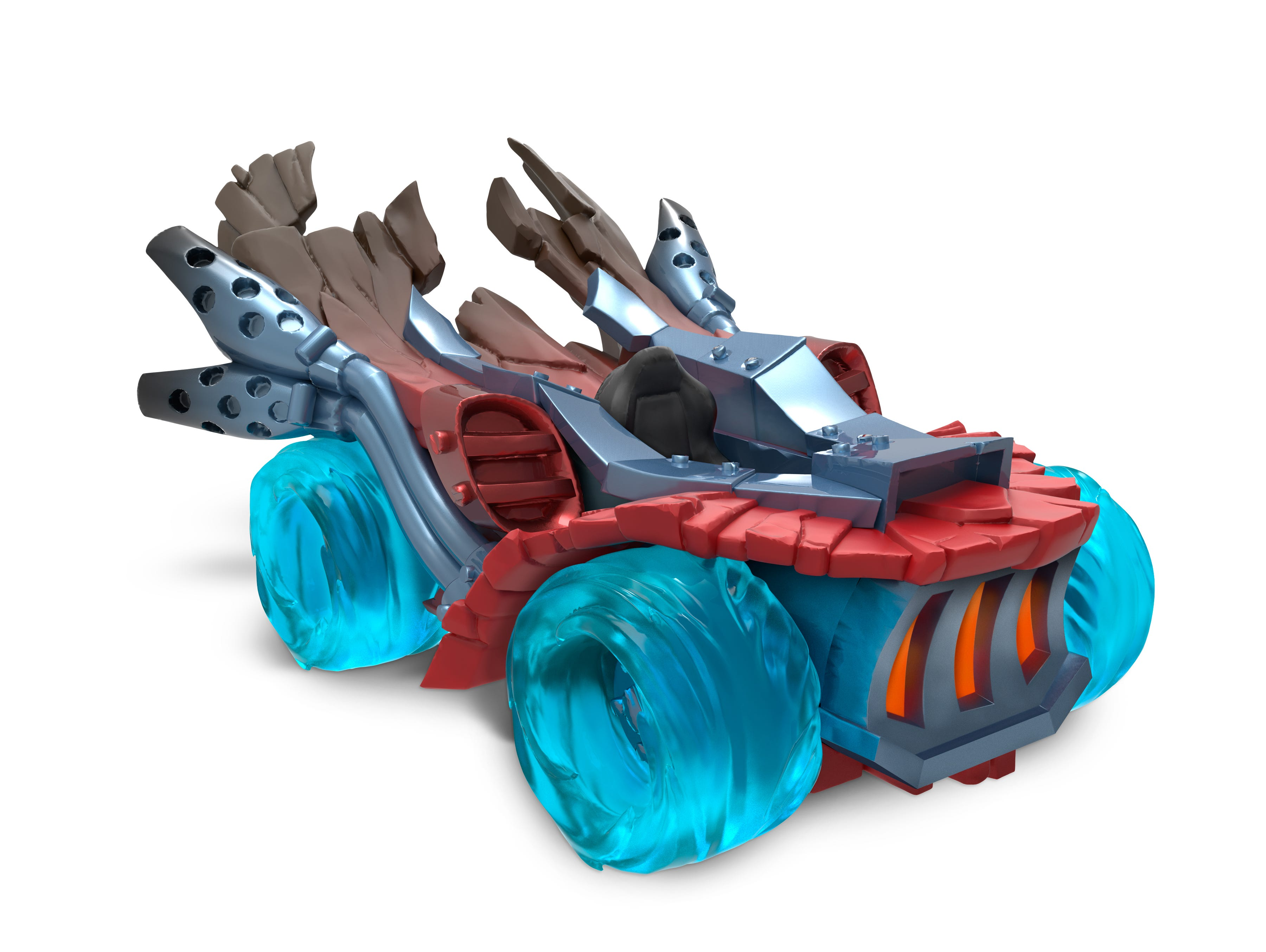 A picture of the race car Spitfire from the upcoming video game 'Skylanders SuperChargers.'