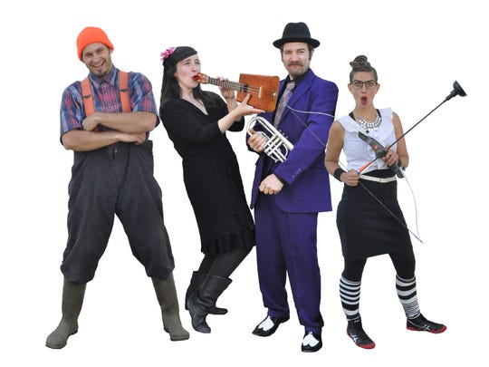 Vermont Vaudeville moves into the Hardwick Town House for three performances Friday and Saturday.