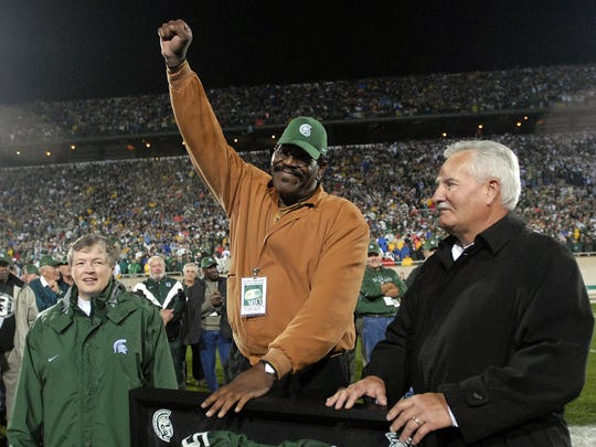 Bubba Smith returned to Spartan Stadium in 2006.