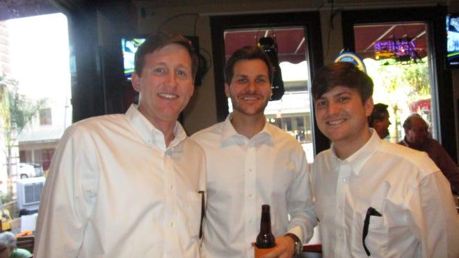 Jason Weaver, Adam Credeur and Joseph Saloom