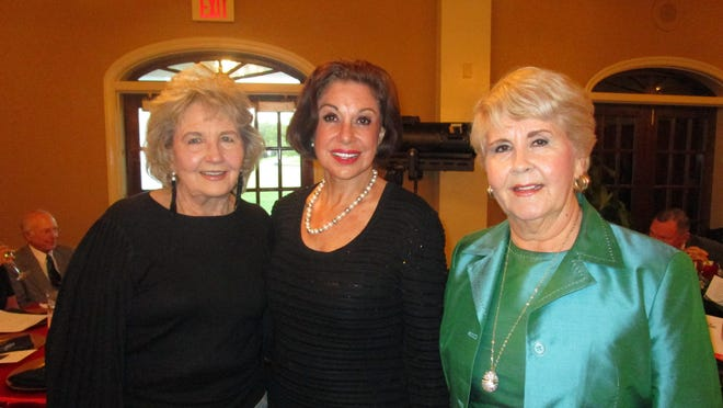 Janet Begneaud, Carolyn French and Estela Brewer