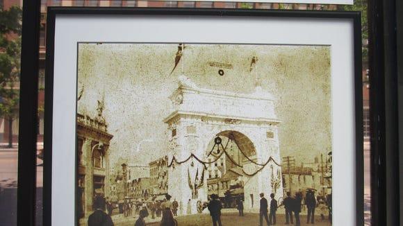 Otis Arch, June 15th, 1900