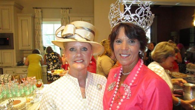 Judy Kennedy and Arline Dake