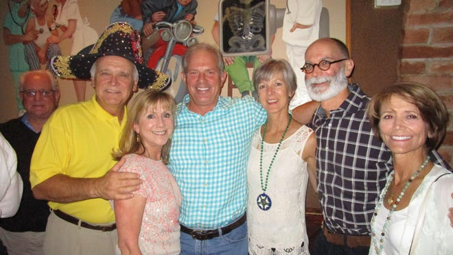 Stuart and Ann Clark, Tommy and Ann Marie Hightower and Jimmy and Melissa Bienvenu