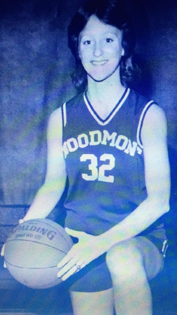Lynda Crawford, a member of Woodmont's Hall of Fame Class of 2017, played basketball and volleyball for five years each and played softball and ran track for two years apiece before moving on to play basketball at Furman.