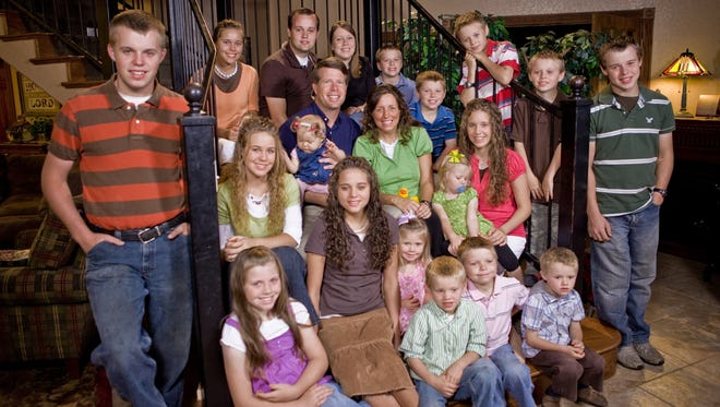 """The Duggar family from TLC's television program """"19 Kids and Counting."""""""