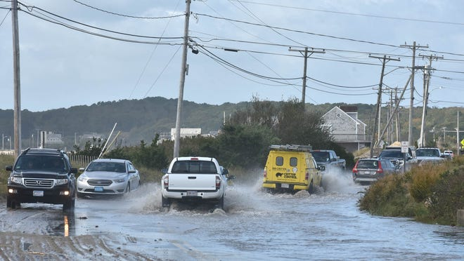 A recent Woods Hole Group study says that due to climate change and sea level rise, infrastructure changes will be needed to protect Surf Drive in Falmouth. The study finds that the road could be abandoned by 2070.