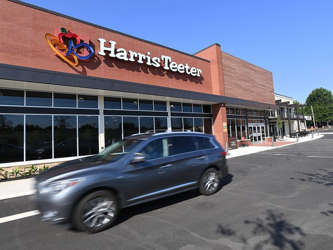The new Harris Teeter grocery store on Augusta Street