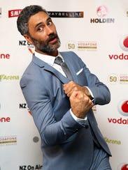 Director Taika Waititi at the Vodafone New Zealand