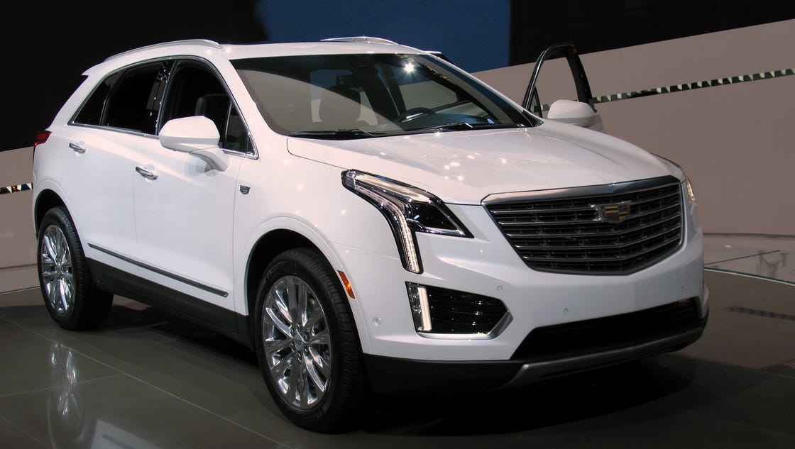 2017 Cadillac Xt5 >> 2017 Cadillac Crossover XT5 first of new series