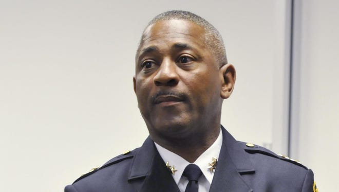 Acting Police Chief John Brown