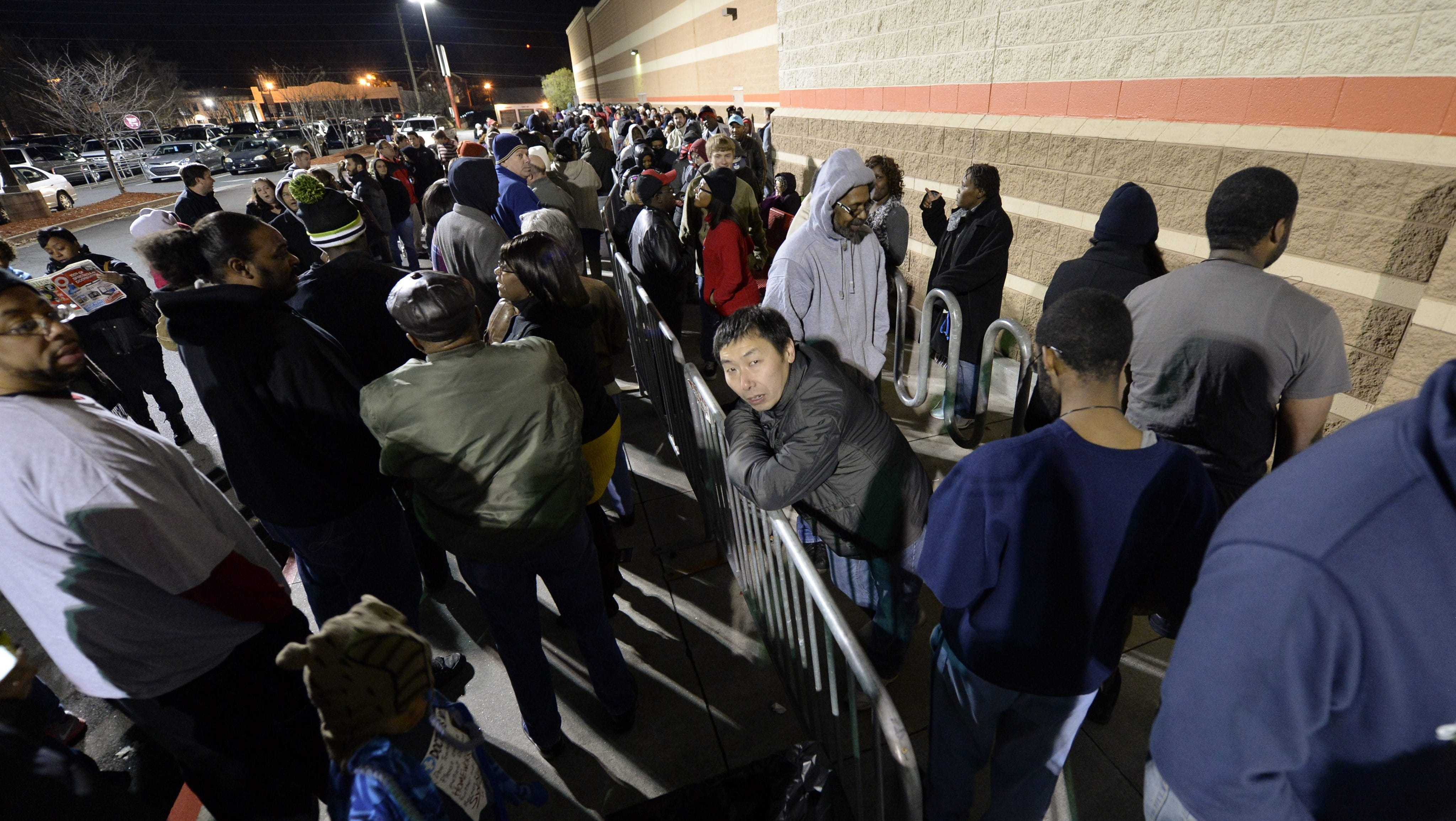 Black Friday Frenzy Leads To Reports Of Violence