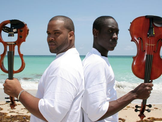 Will B and Kevin Marcus are Black Violin, who will
