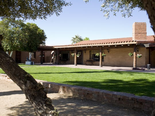 The Kerr Cultural Center was built as a residence and is now owned by ASU.