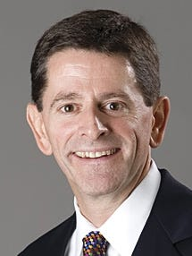 Terry Wilson is the president and CEO of Franciscan St. Elizabeth Health, which is part of the Mishawaka-based Franciscan Alliance hospital system. Franciscan Alliance finalized the purchase of Jasper County Hospital Tuesday, Sept. 1, 2015.
