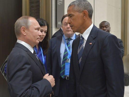 Obama Putin China
