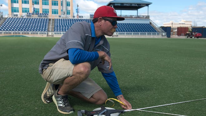 For the fourth consecutive year, the Pensacola Blue Wahoos' Ray Sayre was named Southern League Groundskeeper of the Year.