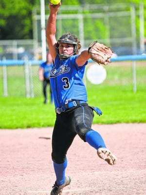 Croswell-Lexington's Megan Guitar was the Times Herald Softball Player of the Year.