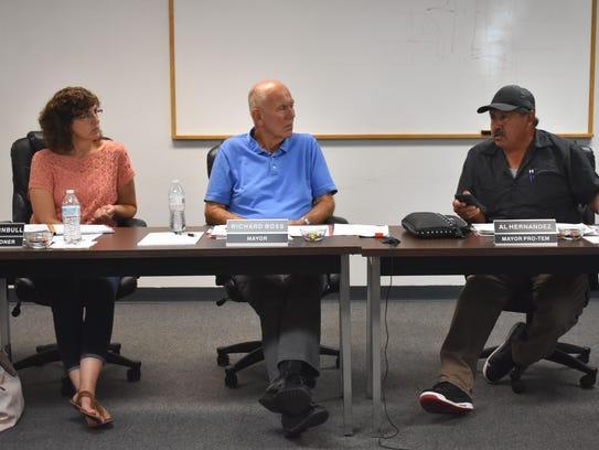 Mayor Pro-Tem Al Hernandez discusses his concerns with