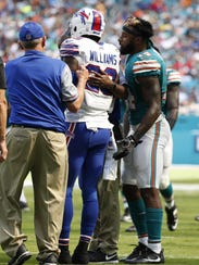 Aaron Williams last appearance for the Bills was in