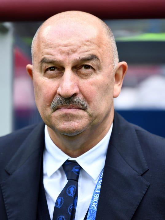 USP SOCCER: WORLD CUP-RUSSIA VS SAUDI ARABIA S SOC RUS