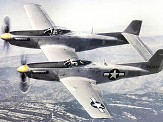 Robert Burnett, of Punta Gorda, qas flying an F-82 Twin Mustang, similar to this, when he was killed in the Korean War.