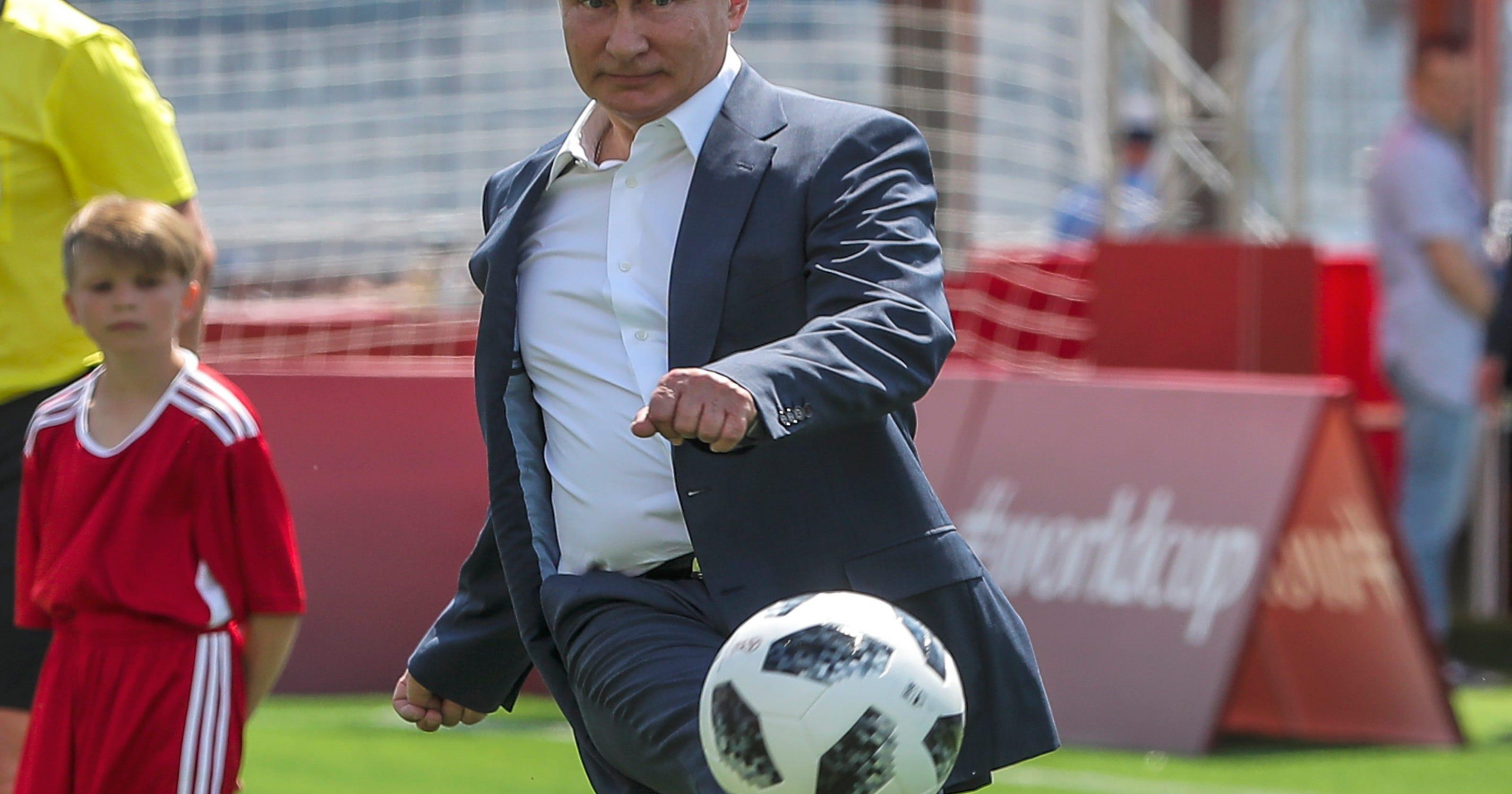 World Cup 2018: Vladimir Putin is the winner of this tournament