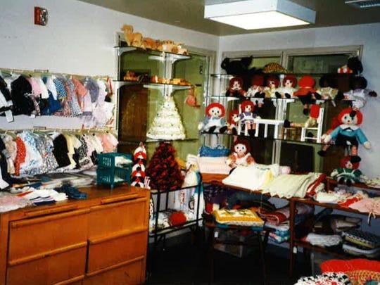 Raggedy Ann and Andy dolls were always a big seller