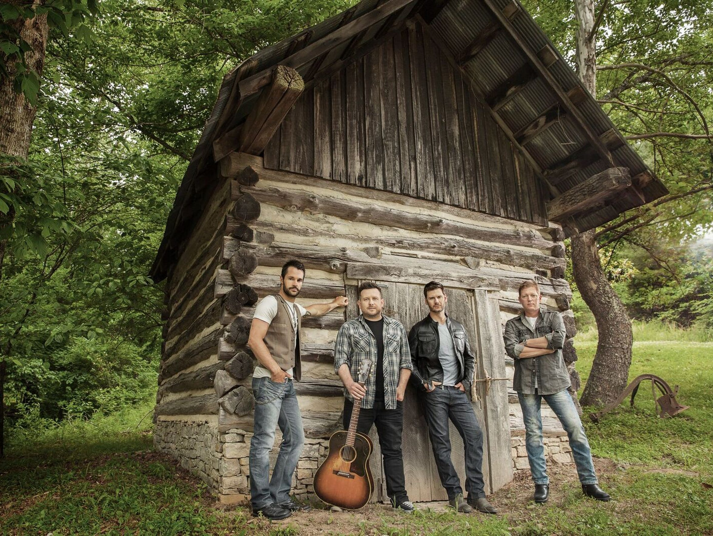 Emerson Drive headlines the entertainment for the inaugural