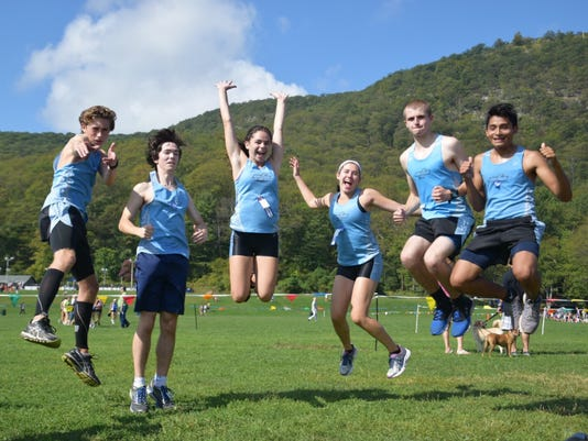 Mahwah cross-country seniors