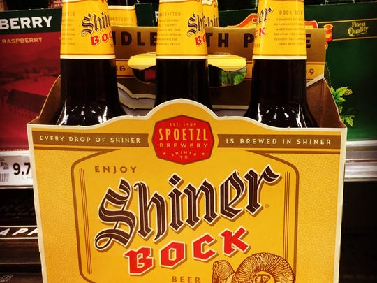 Shiner Bock was originally a seasonal beer, but to meet the demand the Texas brewery has been brewing it year round.