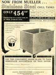 A vintage ad for Paul Mueller Company.