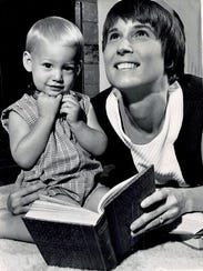 Retha M. Warnicke is pictured in a 1969 photo with
