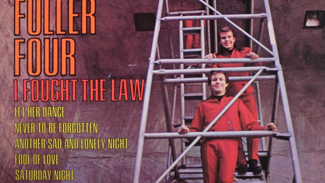 "The cover of the 1966  ""I Fought the Law"" LP by the Bobby Fuller Four."