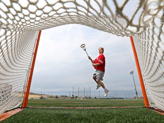 Canandaigua High School senior Devin Andrews is the All Greater Rochester boys lacrosse Player of the Year.