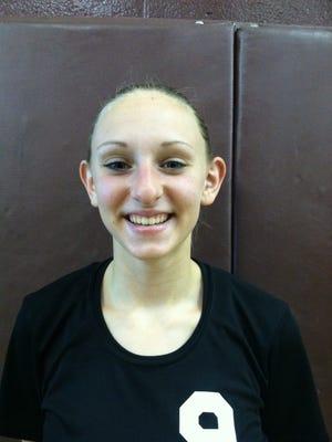 Natalie Tipton, Marine City volleyball