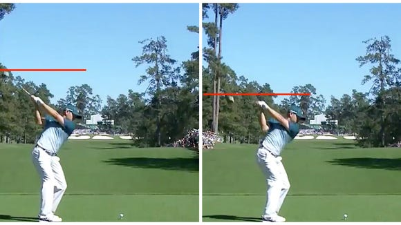 How Sergio Garcia changed his swing