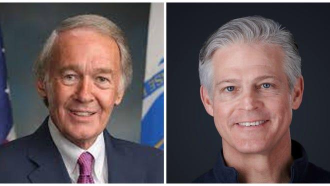 U.S. Senator Edward Markey and Republican challenger Kevin O'Connor