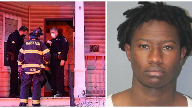 Admilson Semedo, 18, of Brockton, was arrested on Saturday morning, Oct. 30, 2020, after police responded to 124 Menlo St. for a report that someone was trying to break into the multi-family home. He was charged with arson of a dwelling and assault with a dangerous weapon in connection to a fire discovered in the front of the building on Oct. 26.