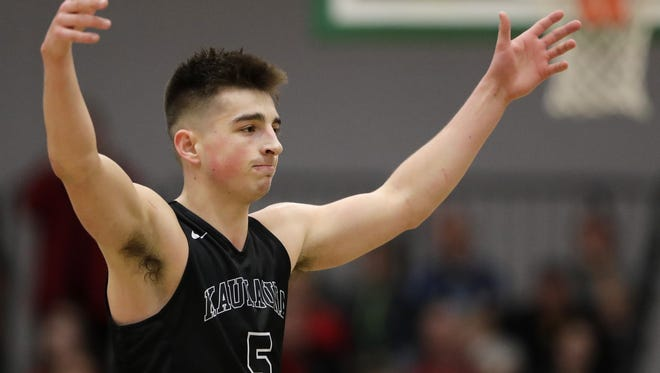 Kaukauna's Jordan McCabe is one of the top returning boys basketball players in Wisconsin.